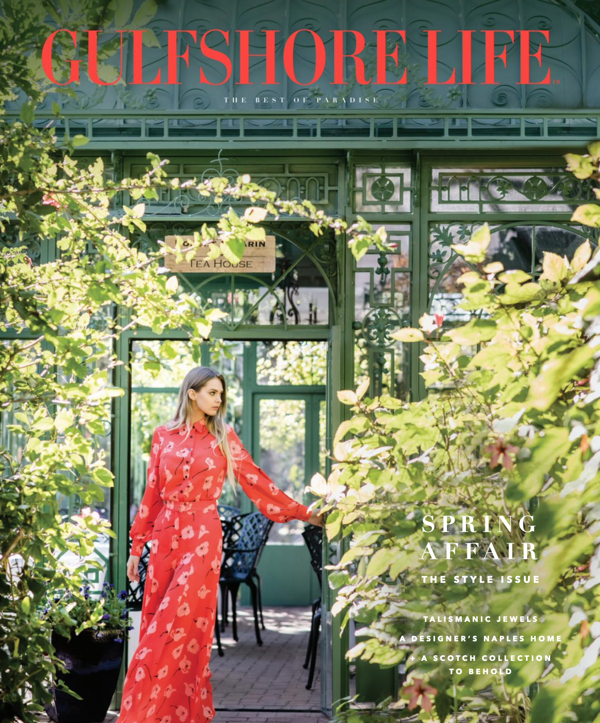 Gulfshore Life cover with feature for David Fruscione in Naples Florida